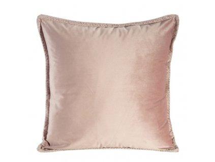Polštář VILLY růžová 45x45 cm Mybesthome