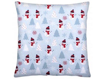 Bavlněný polštář 001 CHRISTMAS TIME 100% bavlna 40x40 cm, Mybesthome