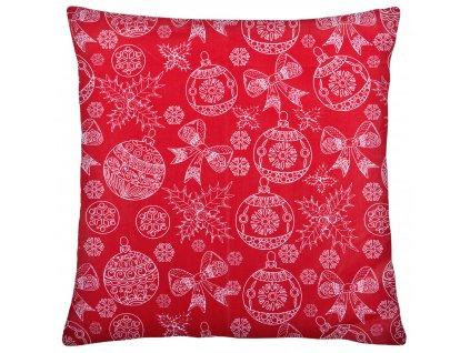 Bavlněný polštář 003 CHRISTMAS TIME 100% bavlna 40x40 cm, Mybesthome