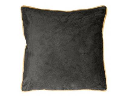 Polštář BALLARD černá 45x45 cm Mybesthome