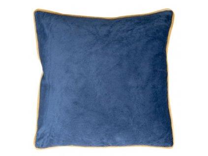Polštář BALLARD modrá 45x45 cm Mybesthome