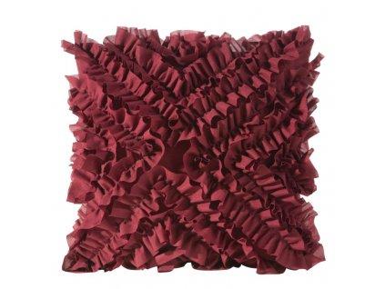 Polštář FREMA II. vínová 45x45 cm Mybesthome