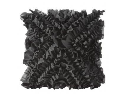 Polštář FREMA II. černá 45x45 cm Mybesthome