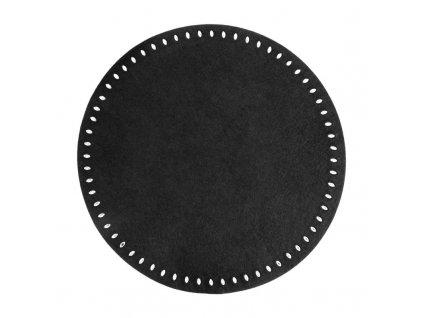 Prostírání GRACIE II. černá Ø 38 cm Mybesthome