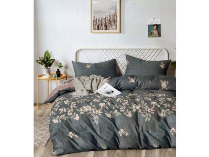 Povlečení MARTA 100% saténová bavlna 1x 200x220 cm, 2x povlak 70x80 cm francouzské povlečení MyBestHome
