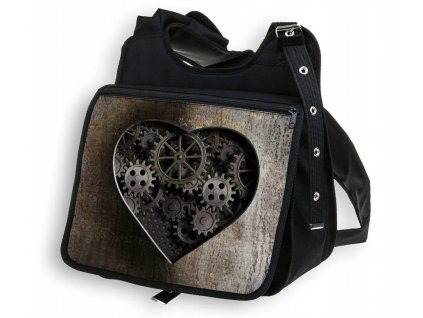 Taška přes rameno MECHANIC LOVE MyBestHome 34x30x12 cm