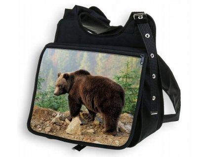 Taška přes rameno MEDVĚD BestHome 34x30x12 cm