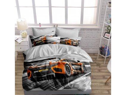 Povlečení GTA CAR 3D 1x 140x200 cm, 2x povlak 70x80 cm MyBestHome