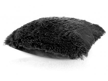 Polštář TIBET 45x45cm černá MyBestHome