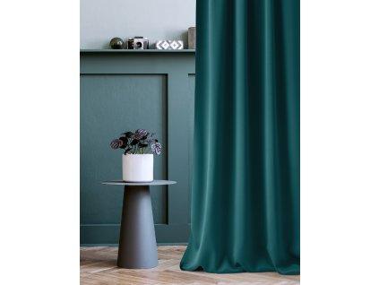 Dekorační závěs EASY 99 petrolejová 140x250 cm MyBestHome