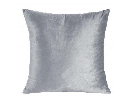 Polštář ROSA stříbrná 40x40 cm Mybesthome