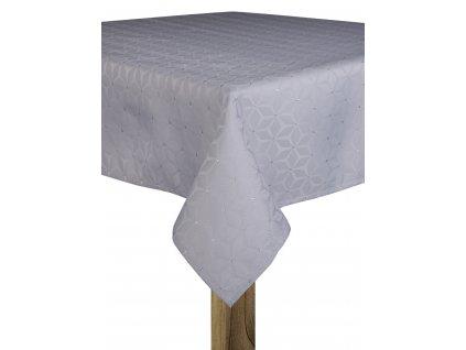 Ubrus HANNAH 110x160, 130x180 cm světle šedá, ESSEX
