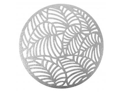 Prostírání DEKOR stříbrná Ø 38 cm Mybesthome