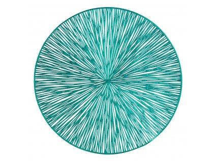 Prostírání MODERNO tyrkysová Ø 38 cm Mybesthome