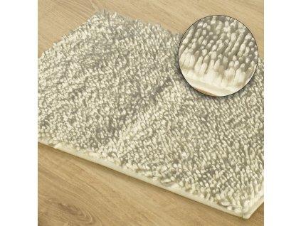 Koupelnová předložka JAKARTA, krémová, 50x70 cm, 60x90 cm Mybesthome