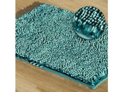 Koupelnová předložka JAKARTA, tyrkysová, 50x70 cm, 60x90 cm Mybesthome