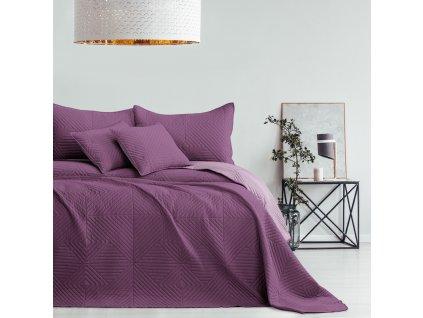 Přehoz na postel SOFTIES 220x240 cm tmavě růžová/světle růžová Mybesthome