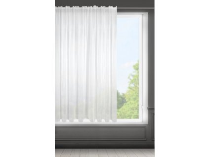 Dekorační krátká záclona KARA bílá 300x160 cm MyBestHome