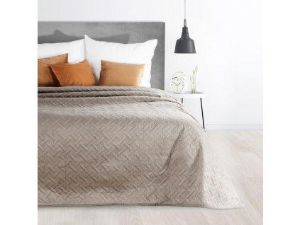 Přehoz na postel ALAN 220x240 cm béžová Mybesthome