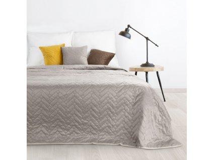 Přehoz na postel KAILA 220x240 cm béžová Mybesthome