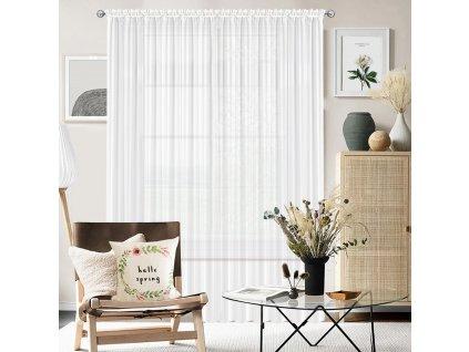 Dekorační voálová záclona SAMANTA bílá 300x250 cm MyBestHome