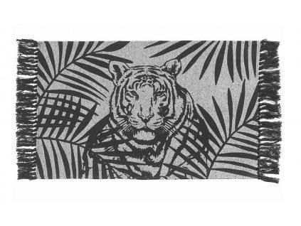 Kusový bavlněný koberec - kobereček TIGER 50x80 cm, Mybesthome