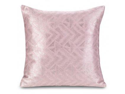 Polštář RHODOS růžová 45x45 cm Mybesthome