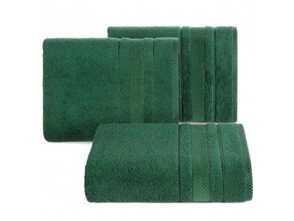 Osuška RONDA BAMBOO 550 gr 70x140 cm, zelená, Mybesthome