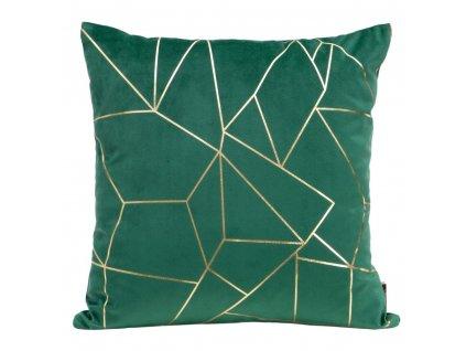 Polštář ALMERIA zelená 45x45 cm Mybesthome