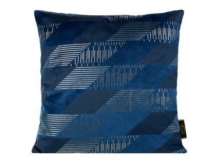 Polštář CEKIN modrá 45x45 cm Mybesthome