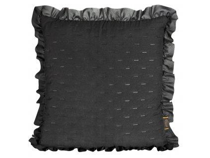 Polštář LUBA 45x45 cm černá MyBestHome