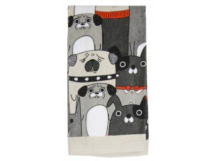 Bavlněný froté ručník s dětským motivem COOL PETS 40x60 cm, KOČKY Essex