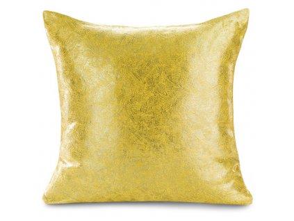 Polštář BLISK zlatá 45x45 cm Mybesthome