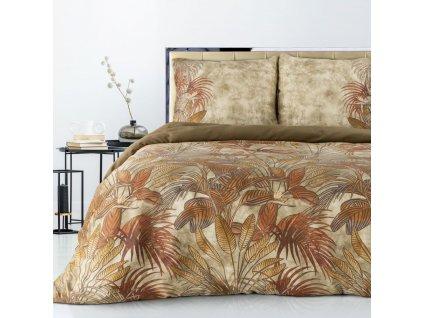 Povlečení ELLEN 100% saténová bavlna 1x 200x220 cm, 2x povlak 70x80 cm francouzské povlečení MyBestHome