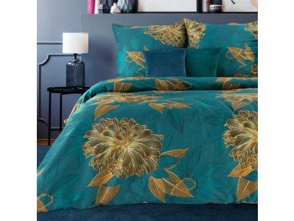 Povlečení SABRINA 100% saténová bavlna 1x 200x220 cm, 2x povlak 70x80 cm francouzské povlečení MyBestHome