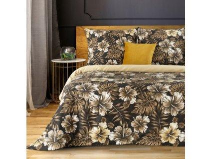 Povlečení KARINE 100% saténová bavlna 1x 200x220 cm, 2x povlak 70x80 cm francouzské povlečení MyBestHome