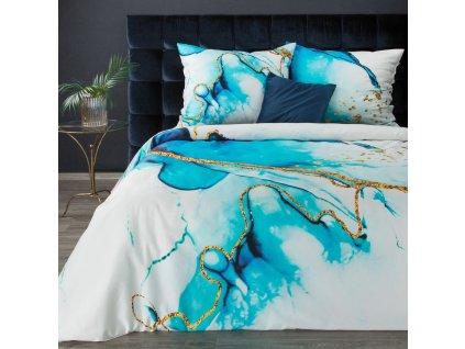 Povlečení ALESSANDRA 100% saténová bavlna 1x 200x220 cm, 2x povlak 70x80 cm francouzské povlečení MyBestHome