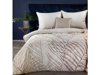 Povlečení JAINE 100% saténová bavlna 1x 200x220 cm, 2x povlak 70x80 cm francouzské povlečení MyBestHome