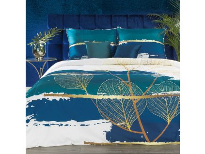 Luxusní povlečení EVA XIX. 100% saténová bavlna 1x 200x220 cm, 2x povlak 70x80 cm francouzské povlečení