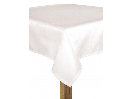 Ubrus BECKY bílá, 145x220 cm ESSEX