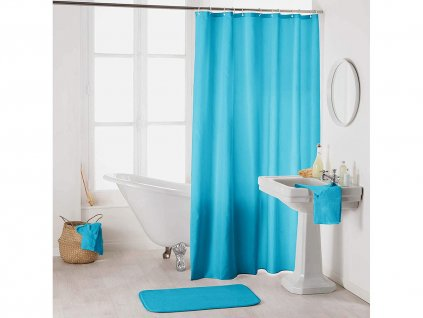 Sprchový závěs CAMILA modrá 180x200 cm MyBestHome