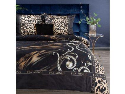 Luxusní povlečení EVA XXI. 100% saténová bavlna 1x 200x220 cm, 2x povlak 70x80 cm francouzské povlečení