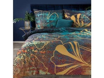 Povlečení RENATA 100% saténová bavlna 1x 200x220 cm, 2x povlak 70x80 cm francouzské povlečení MyBestHome