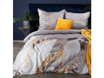Povlečení VIVIAN 100% saténová bavlna 1x 200x220 cm, 2x povlak 70x80 cm francouzské povlečení MyBestHome