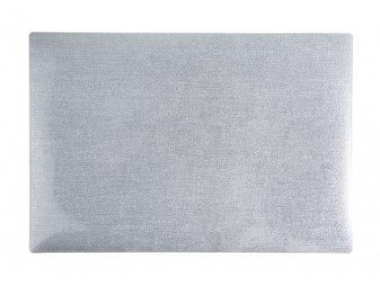 Prostírání HARDY 30x45 cm stříbrná Mybesthome
