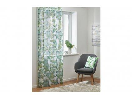 Dekorační záclona s řasící páskou SABAL 02 140x245 cm (cena za 1 kus) MyBestHome