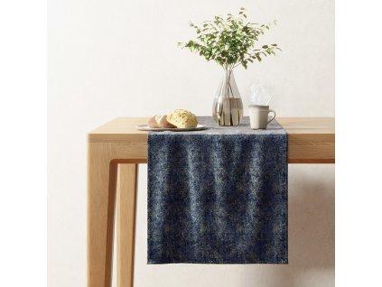 Ubrus - běhoun na stůl BLISK modrá 40x140 cm Mybesthome