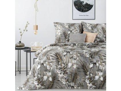 Povlečení NIKOL 100% saténová bavlna 1x 200x220 cm, 2x povlak 70x80 cm francouzské povlečení MyBestHome