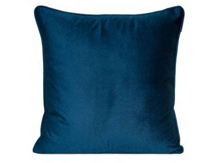 Polštář PIERRE CARDIN LUX tmavě modrá 45x45 cm Mybesthome