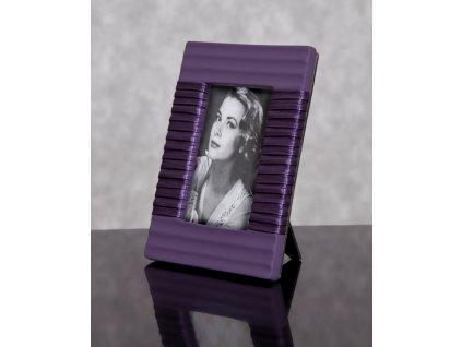 Fotorámeček PRIME fialová 10x15 cm fotografie Mybesthome
